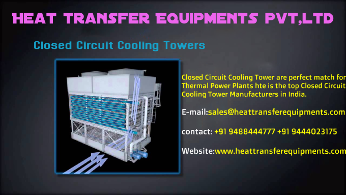 Closed Circuit Cooling Tower Manufacturers Closed Circuit Cooling
