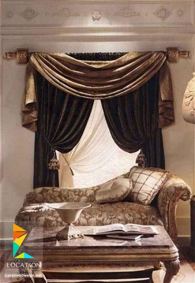 اشكال ستائر مودرن من أحدث موديلات الستاير 2019 Curtains Living Room Modern Curtain Designs For Bedroom Living Room Drapes