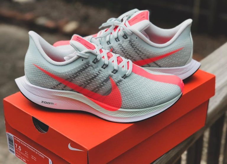 Nike Zoom Pegasus 35 Turbo 'Barely Grey Hot Punch' | Ayakkabılar
