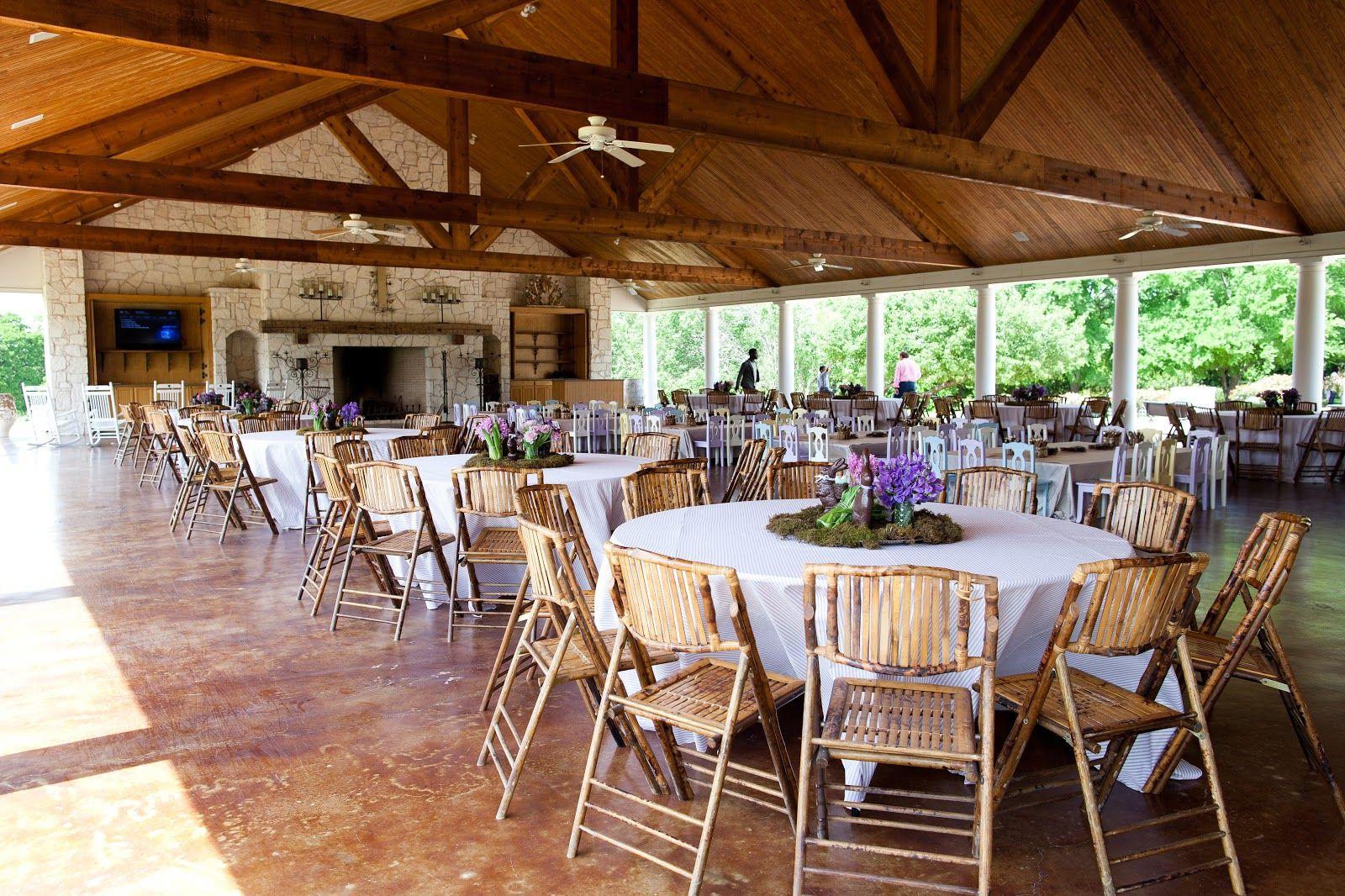 Pavilion at White Oaks Ranch for Kimberly Schlegel Whitman's Annual Easter Egg Hunt