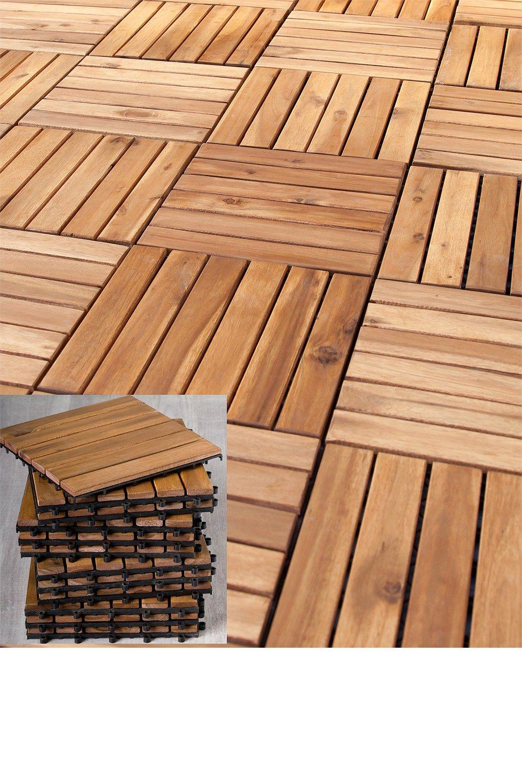ezibuy - set of 3 wooden tiles $3.3 AU  Varandas pequenas