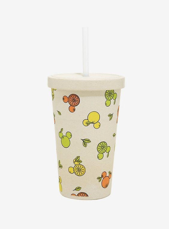 Disney Fruit Bamboo Travel Cup - BoxLunch Exclusive #mugdisplay