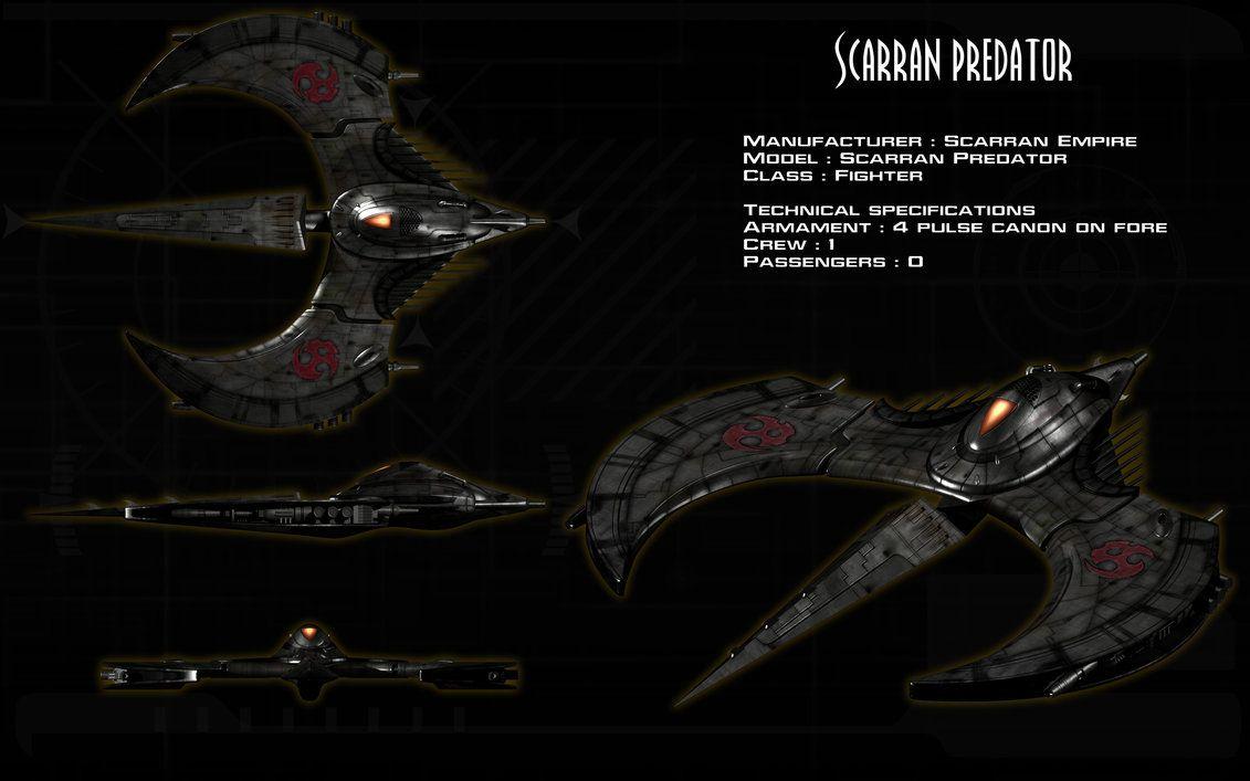 Scarran Predator ortho by unusualsuspex on DeviantArt