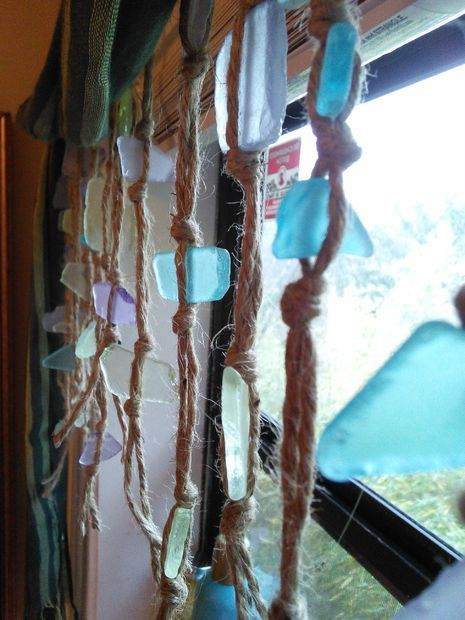 Picture of Simple Sea Glass Curtain