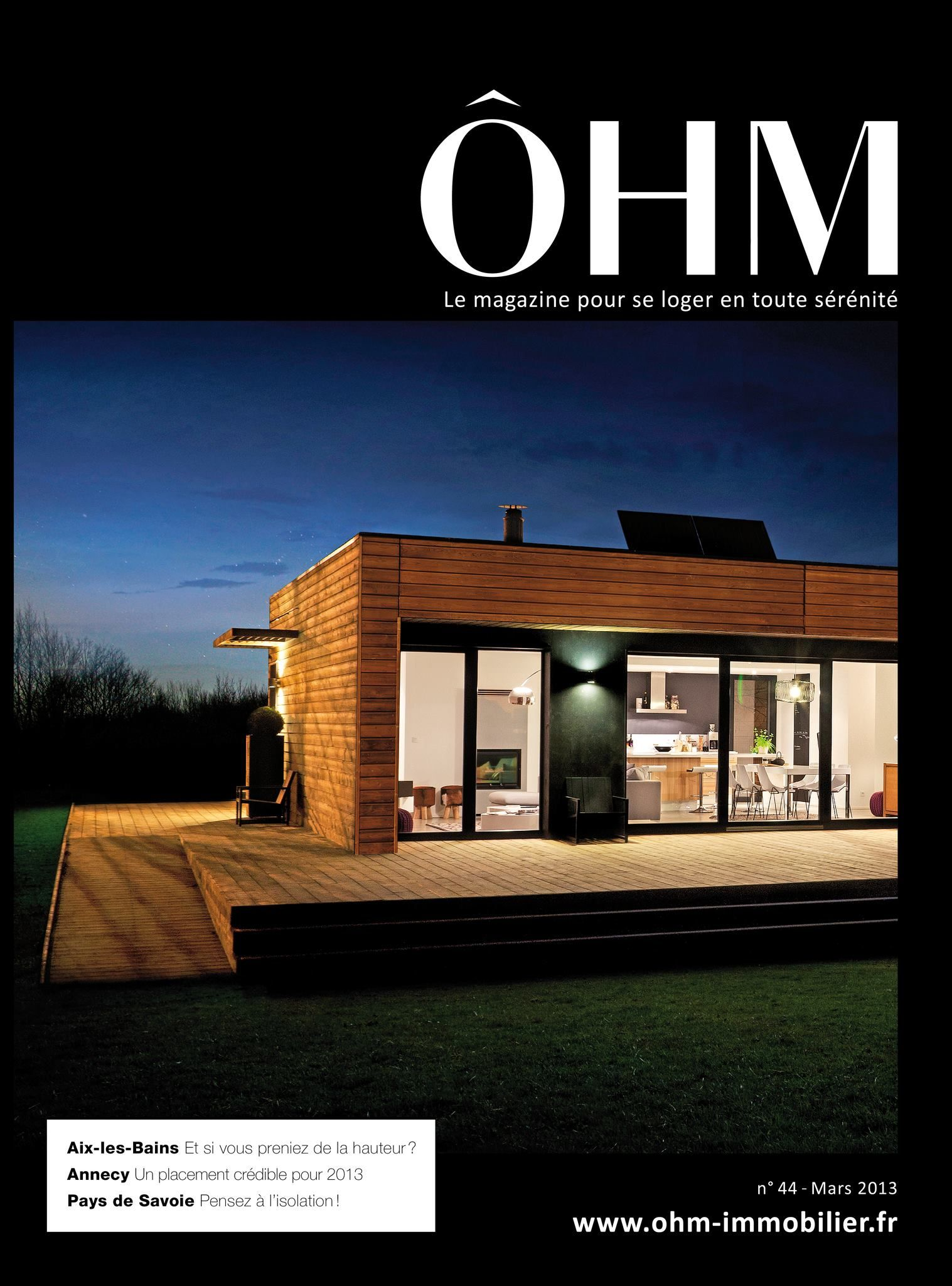 http://www.ohm-immobilier.fr/ #Design #Moderne #Architecture | ÔHM ...