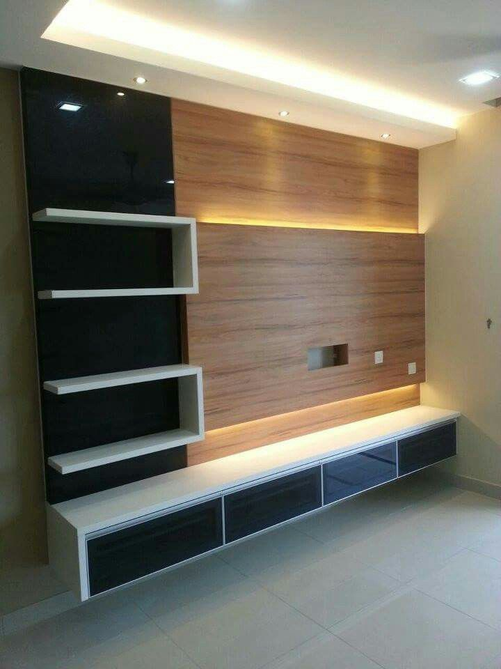 Lcd Tv Furnitures Designs Ideas: Wall Tv Unit Design, Lcd Wall