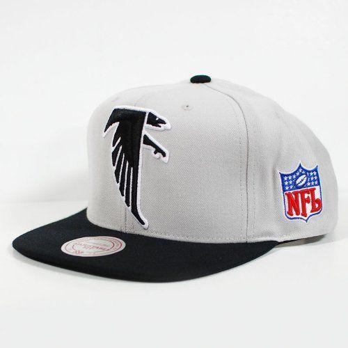 new styles 71163 18cdb Mitchell & Ness NFL Grey 2-tone Xl Snapback - Atlanta ...
