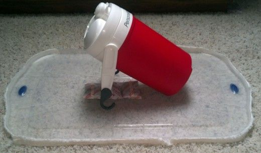 Awesome Make Sure You Do NOT Seal The Container Shut If You Have Dry Ice In It ·  The BugBed ...