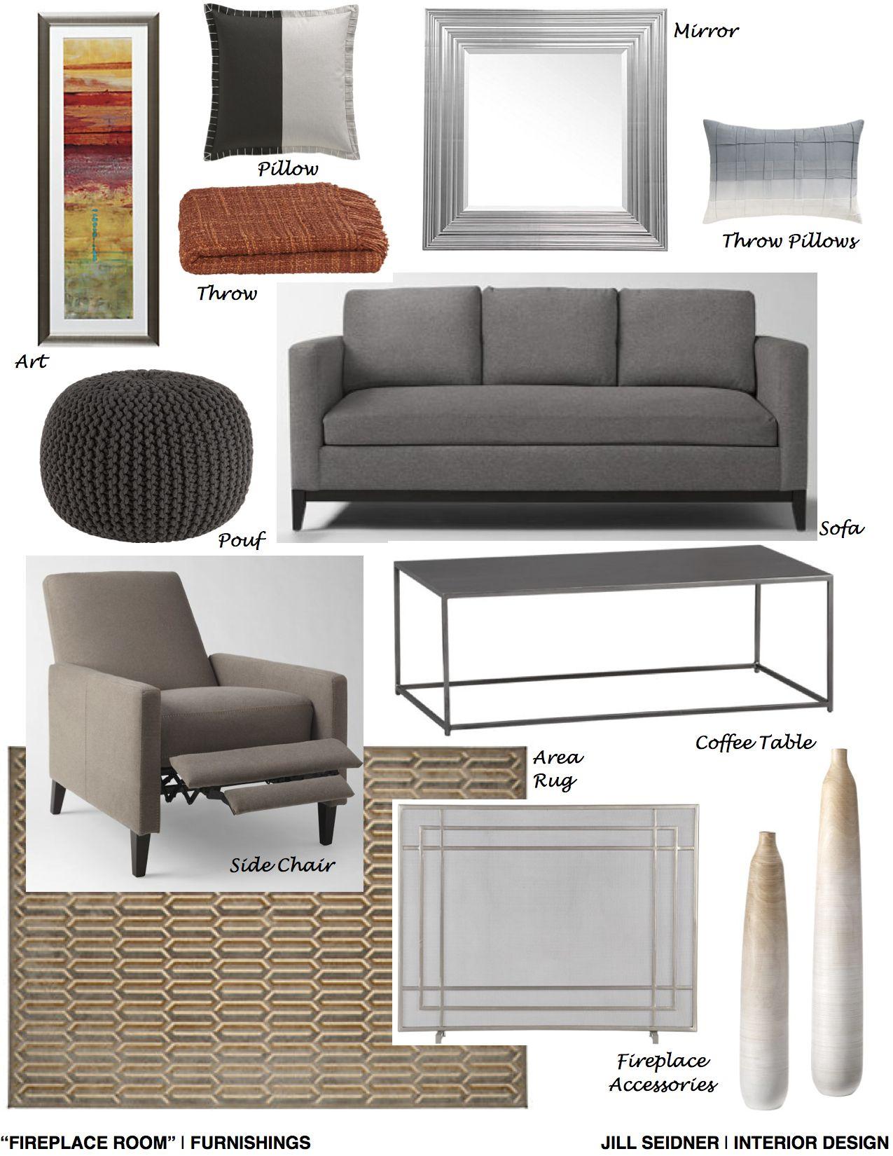 "Help Designing A Room: Chandler, AZ Online Design Project ""Fireplace Room"