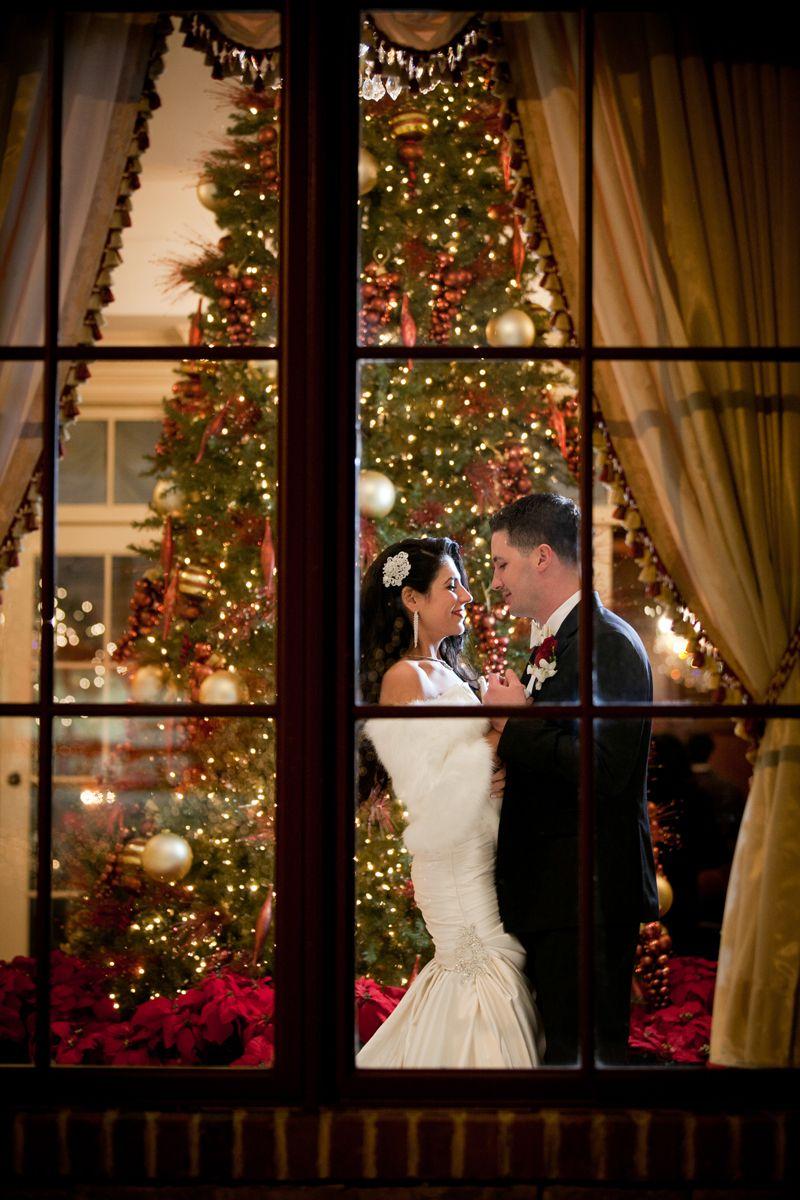 The Inn At New Hyde Park Wedding Christmas Photo
