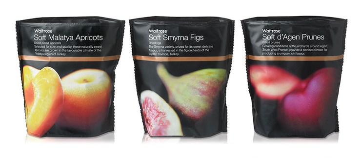 waitrose Fruit packaging, Organic snacks, Dried fruit
