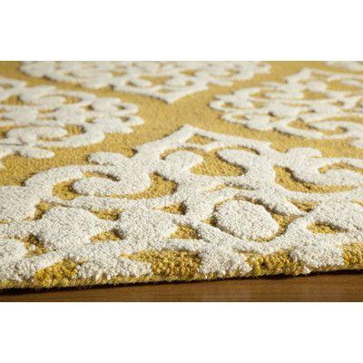 Momeni Dunes Gold Area Rug & Reviews | Wayfair | Lovely Old House ...