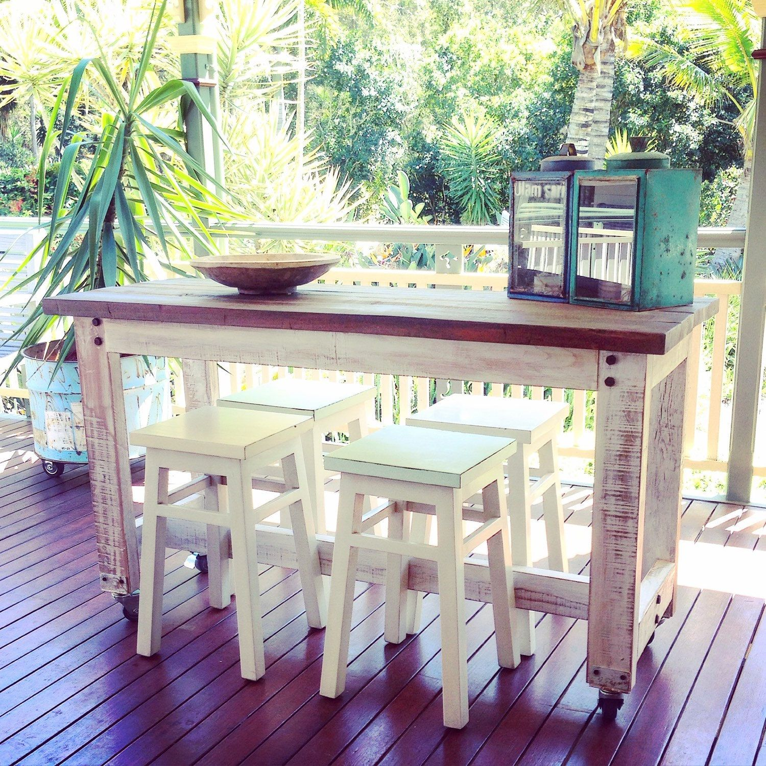Pin By Timber Revival On Our New Recycled And Reclaimed: Love Seeing Photos Of Our Recycled High Bench Table In Our