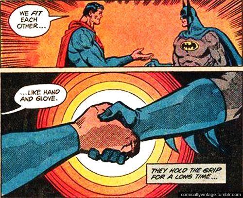 art comic Superman gay