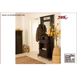 Photo of Colonial style wardrobe, solid wood colonial stained 1a direct import