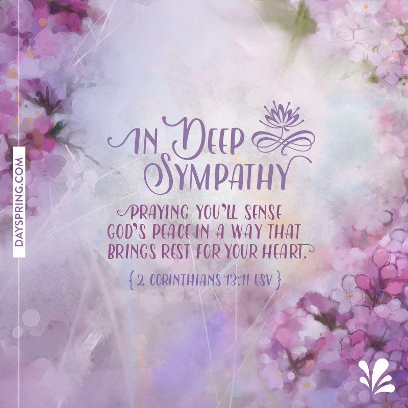 Sympathy Ecards  Dayspring  Sympathy    Ecards