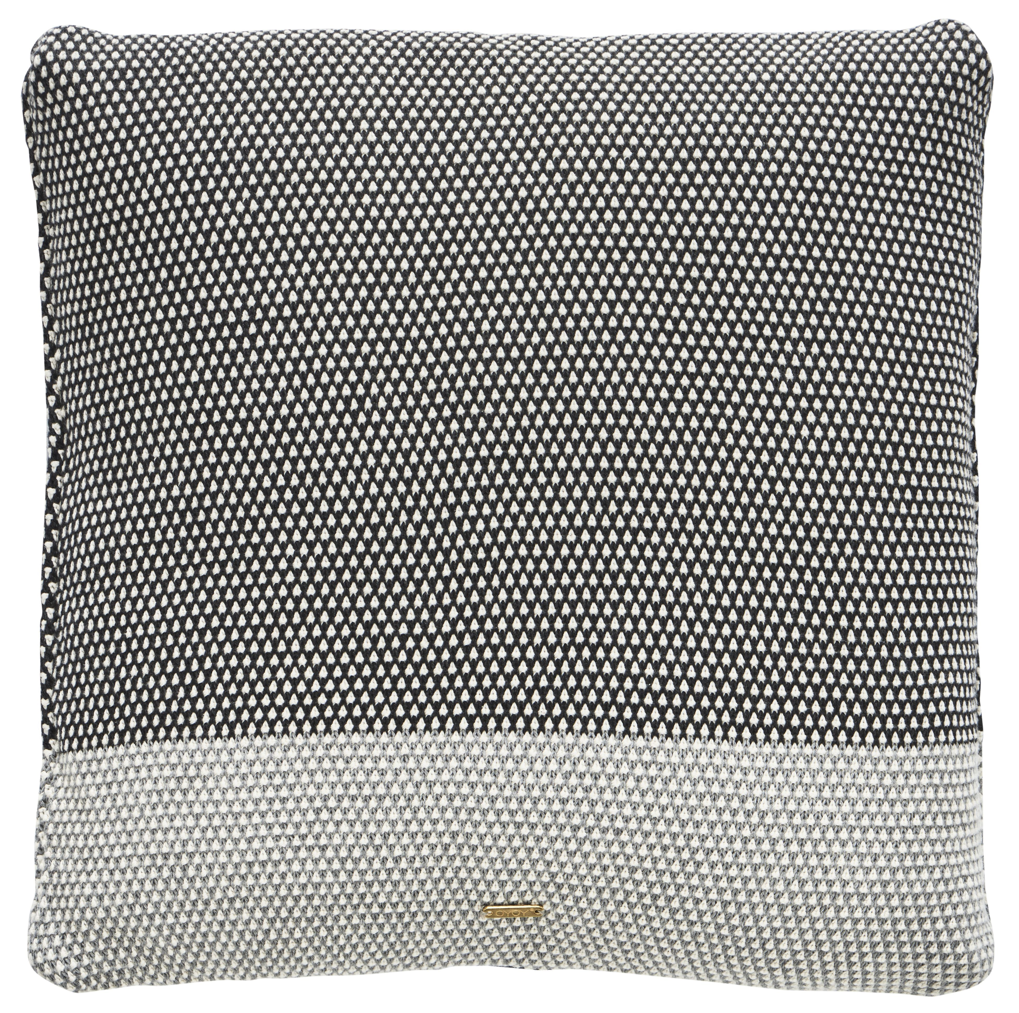 Koke pillow in grey u anthracite design by oyoy pillows colour