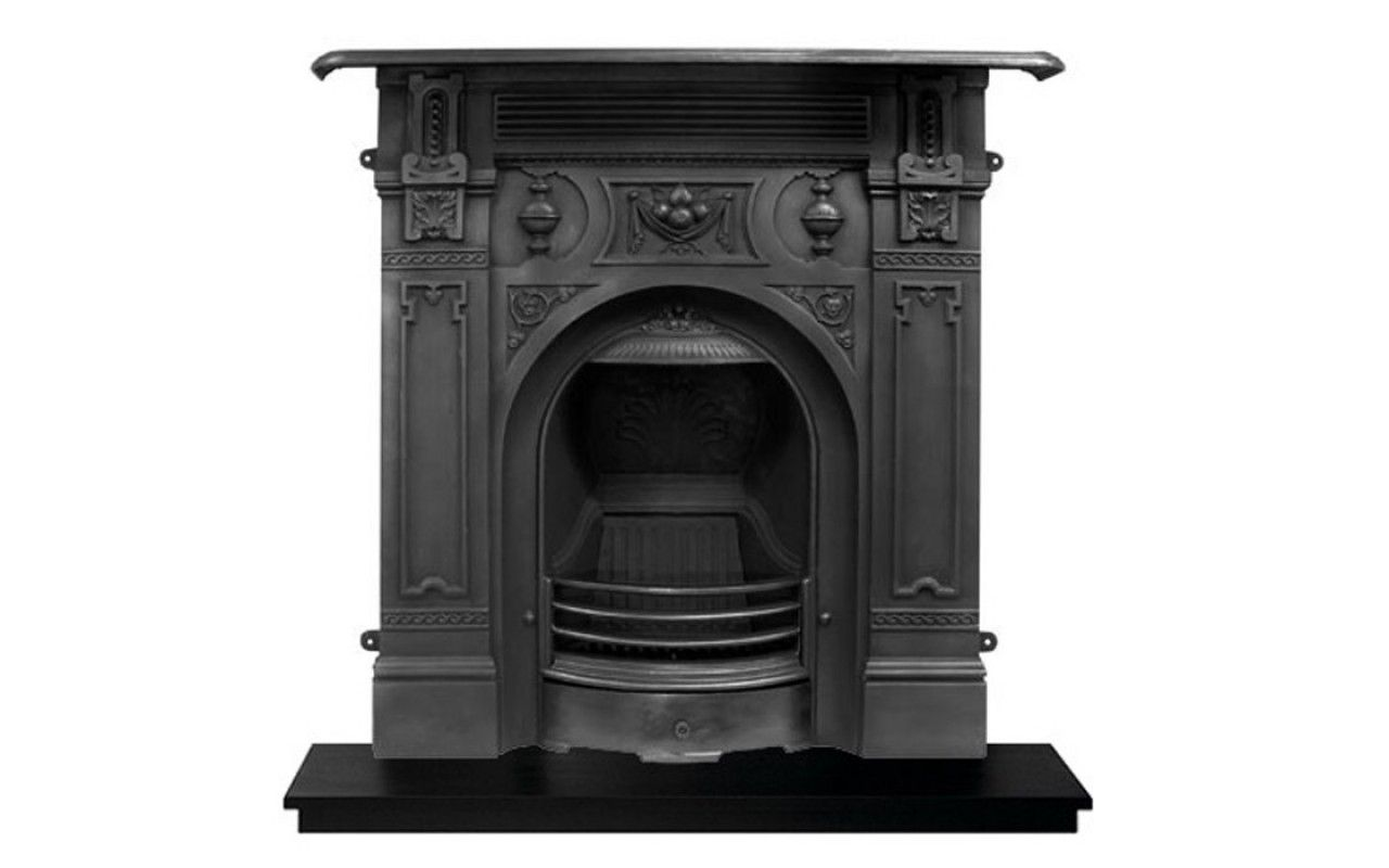 Carron Victorian Large Cast Iron Fireplace Cast Iron Fireplaces