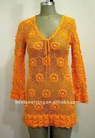 chaquetas tejidas a crochet con patrones - Buscar con Google