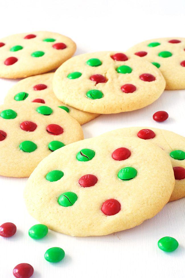 MM Christmas Sugar Cookies Recipe Christmas sugar cookies