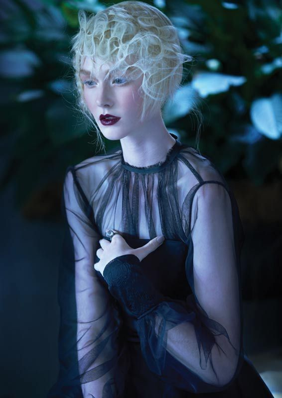 Haunted Opulence by Sharon Blain #hair #collection See more on http://salonmagazine.ca/collections/