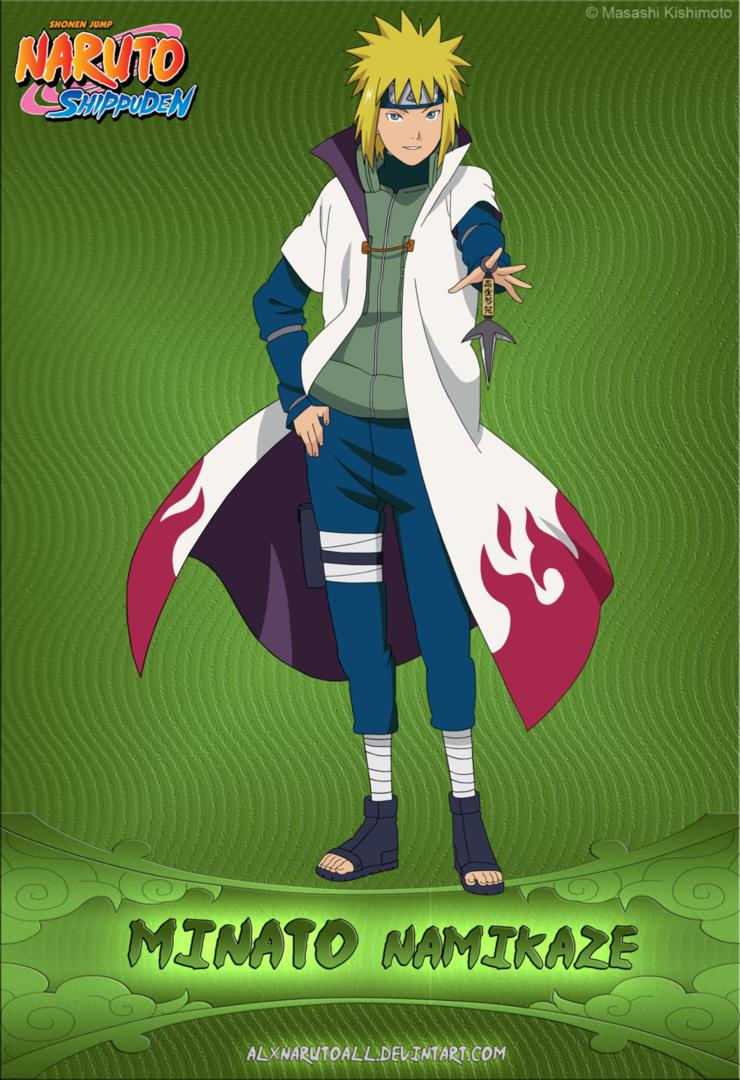 Minato Namikaze Naruto Characters Naruto Uzumaki Minato