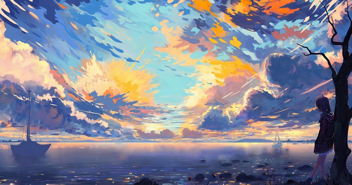 19 Anime Wallpaper Macbook Finding The Right Anime Wallpaper Is A Pretty Colossal Undertaking In 2020 Landscape Wallpaper Anime Scenery Wallpaper Scenery Wallpaper