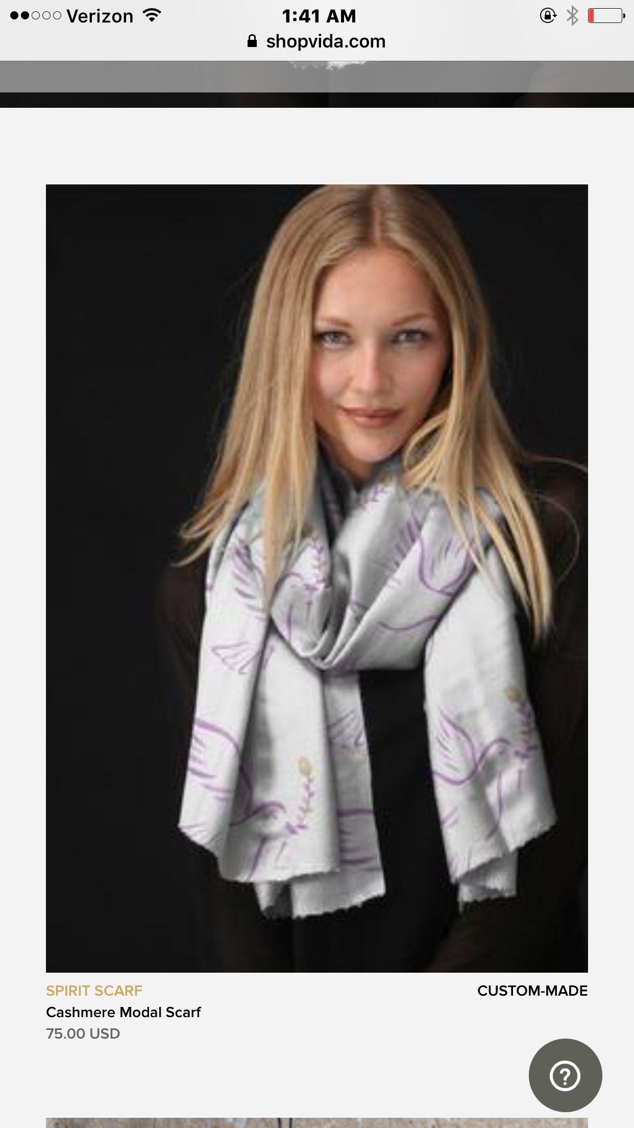 Cashmere Silk Scarf - Shine Silk Scarf by VIDA VIDA cONoNN