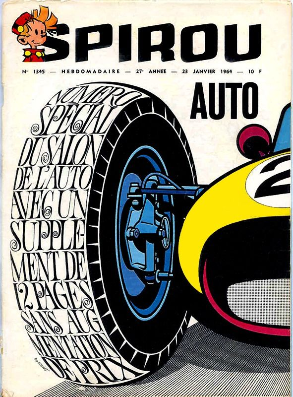 Salon de l auto 1964 franquin affiches plaques pinterest - Affiche salon de l auto ...