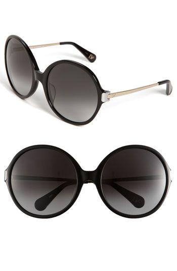 9a0895d59b39f Diane von Furstenberg  Lais  Oversized Round Sunglasses