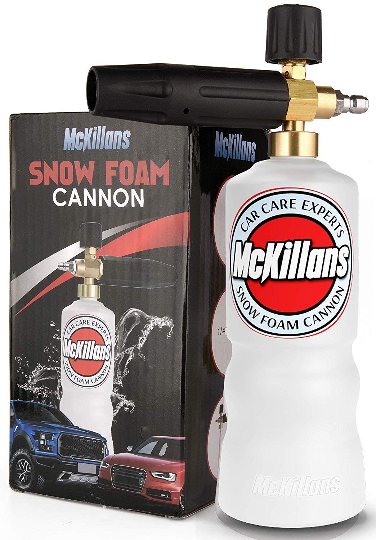 McKillans Foam Cannon Professional Grade Adjustable Lance