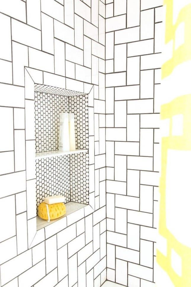 Bathroom Needs freshen up your bathroom in 2017 with this mixed tile trend