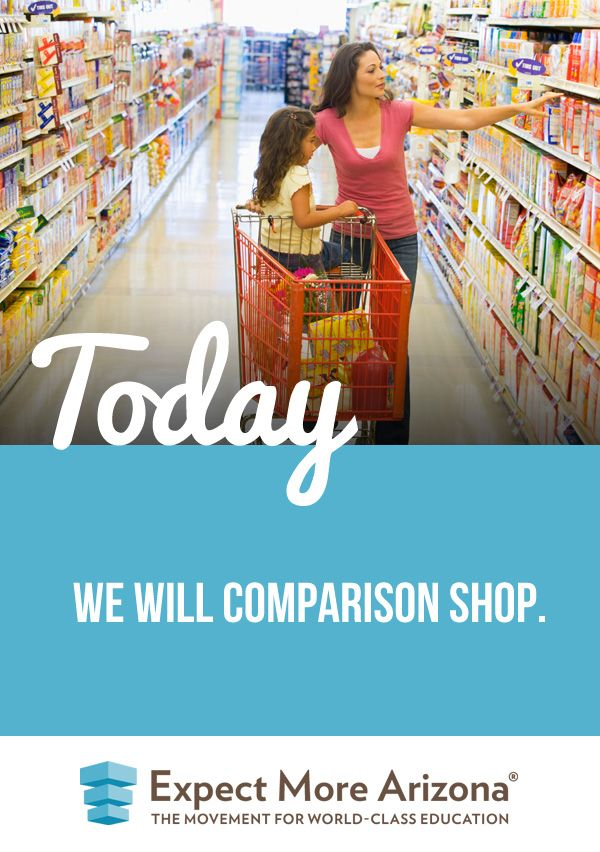 """Click image to read how one parent is making shopping with her son an educational experience (and click """"comparison shop""""). #TodayInAZ #STEM"""