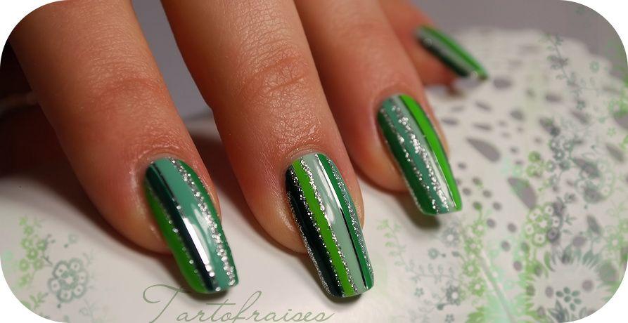 Modele Unghii Cu Gel Si Oja Verde Unghiute în 2019 Green Nail