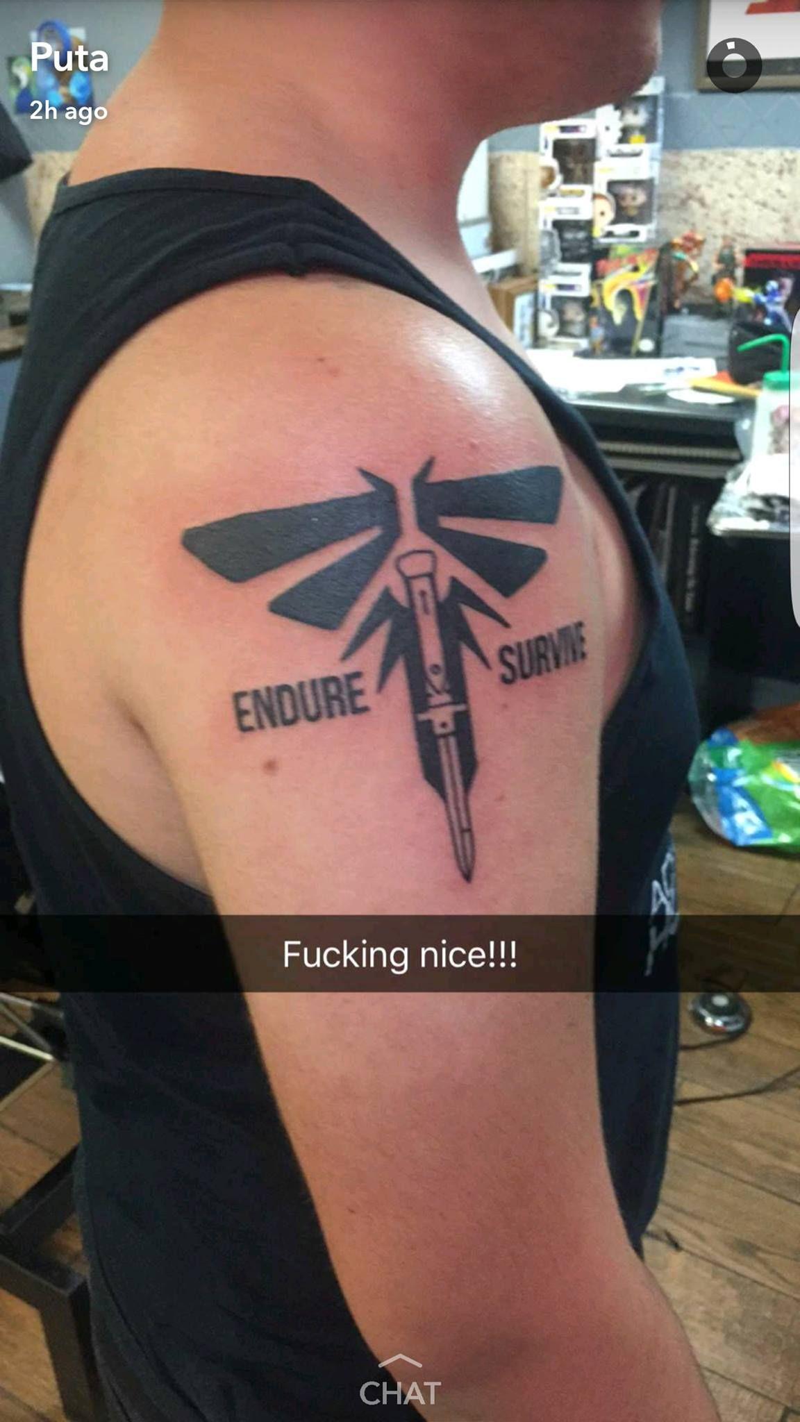 Afbeeldingsresultaat voor firefly the last of us tattoo