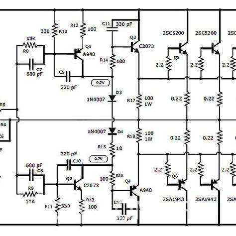 1000w Audio Amplifier Circuit Diagram Wiring Diagrams