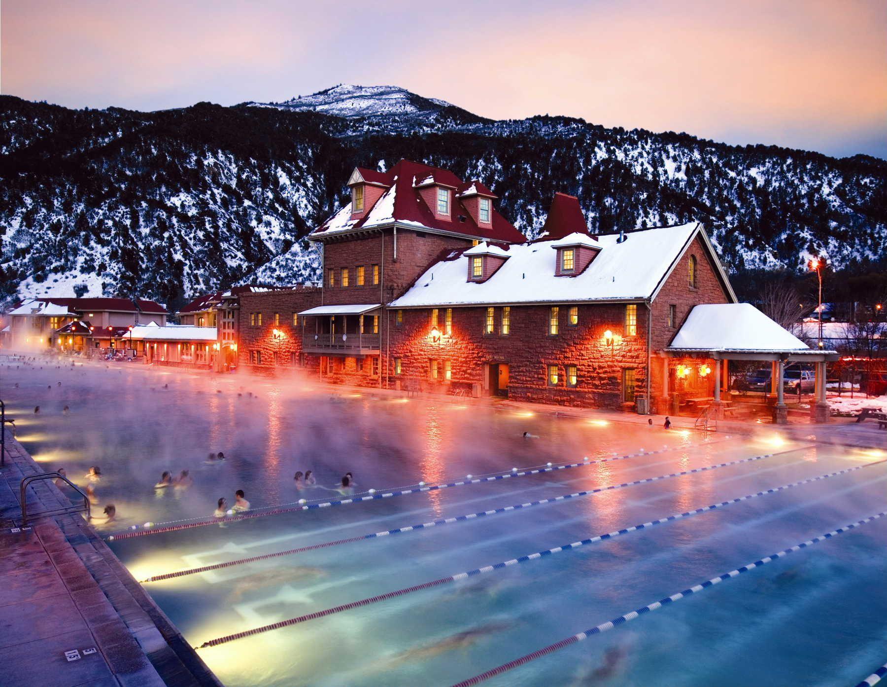 Glenwood Hot Springs Lodge Ad Pool Photo Library Glenwood Springs Colorado Hot Springs Glenwood Springs