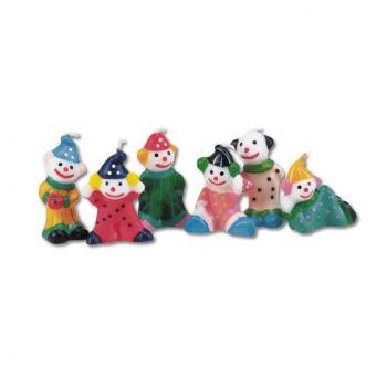 Clown Torte Kuchenkerzen Set Clowns