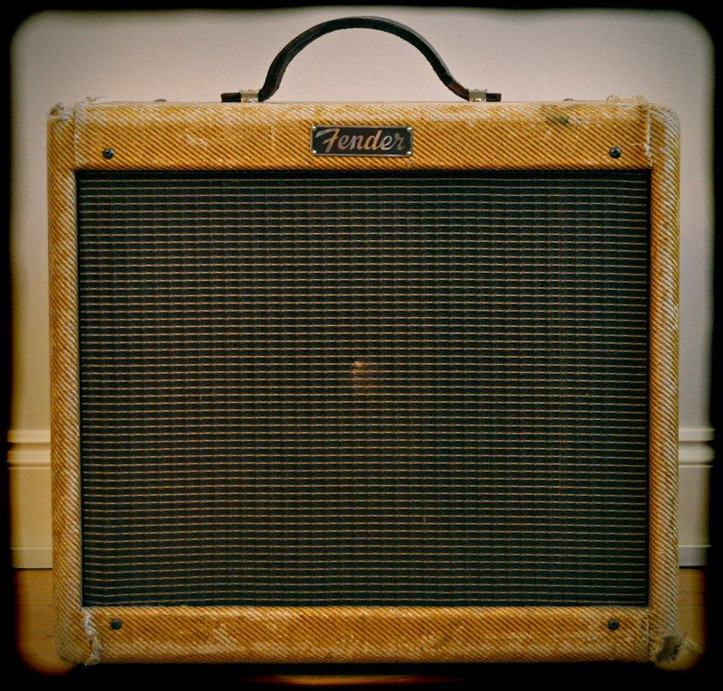 1950 Tweed Princeton (Photo by TheAmpFactory: Vintage & Rare Amp Collection)