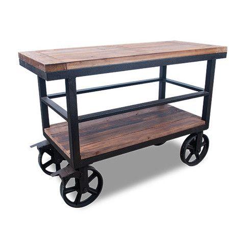 ferro gabinete de madera y hierro fundido natural On gabinete de metal de estilo industrial