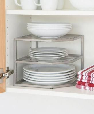 Seville Classics Corner Kitchen Cabinet Organizer & Reviews - Cleaning & Organization - Home - Macy's #kitchencabinetsorganization