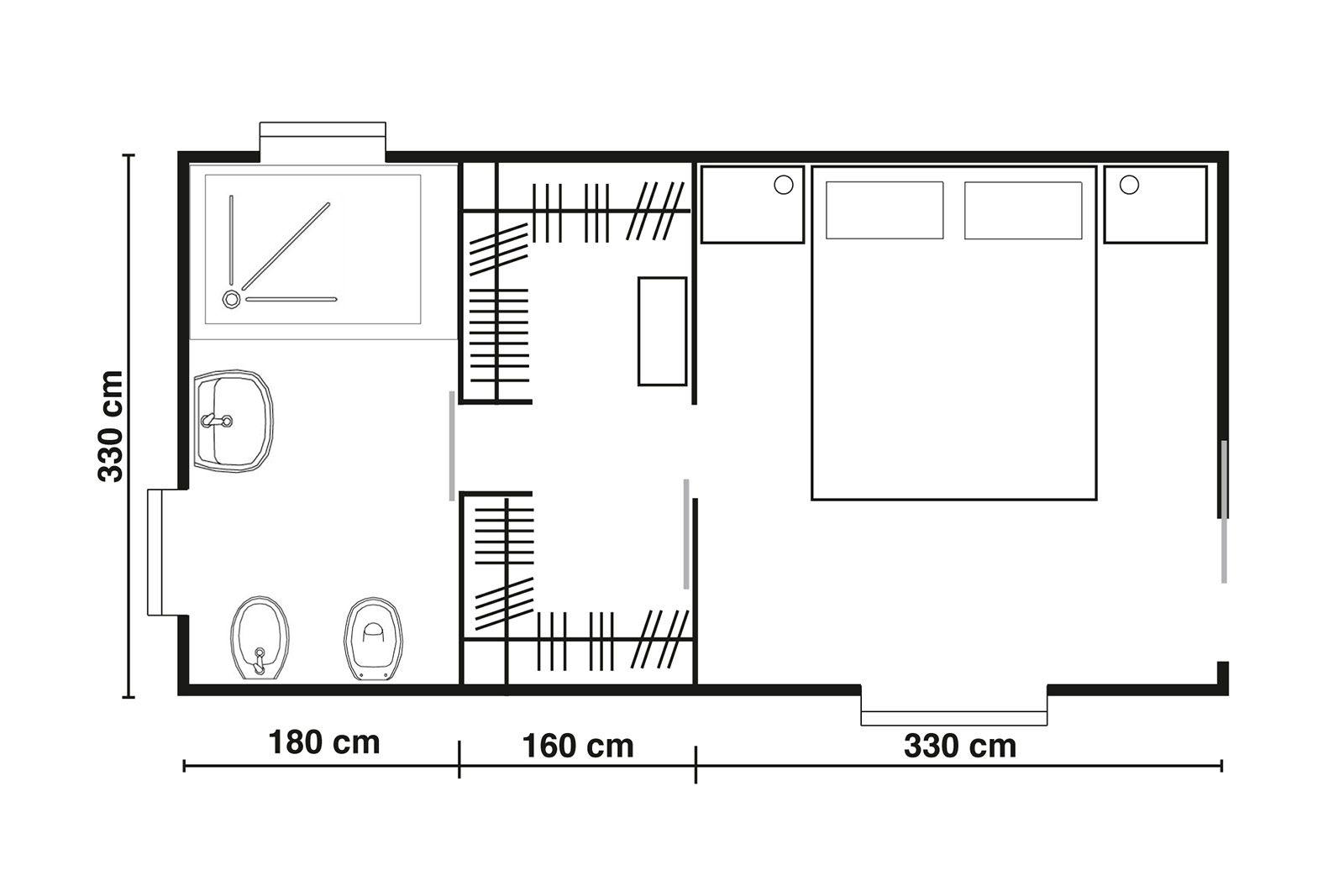 cabine armadio. progettiamo insieme lo spazio - cose di casa | for ... - Misure Armadio Camera Da Letto