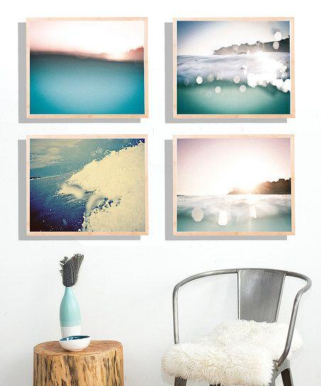 Fresh Words Market Surf-Side Print Set   zulily