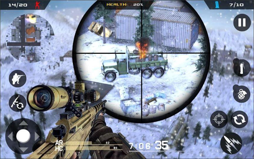 Winter Sniper Shooter Modern Sniper Game Android Android Gameplay Android Androidgame Androidgames Games Android In 2020 Sniper Games Ghost Games Android Games