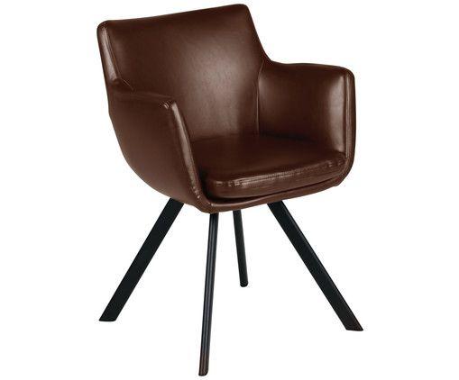 Armlehnstuhl in Braun >> WestwingNow   Stühle ...