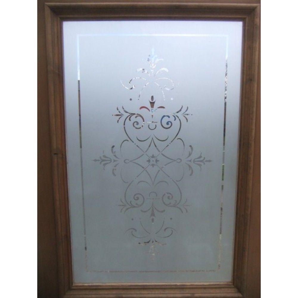 Etched glass doors privacy glass door inserts bamboo pictures to pin - Ge Tste Glazen Deur The Regent B Etched Glassglass Doorswindow Treatments