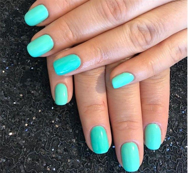 Top 33 Special Summer Gel Nail Art Designs Trends Nails Gel