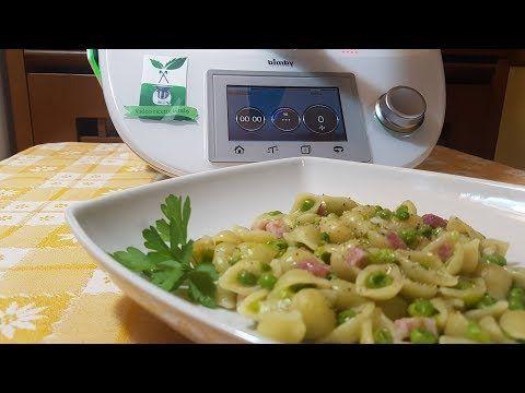 Pasta E Piselli Risottata Bimby Per Tm5 E Tm31 Youtube Ricette