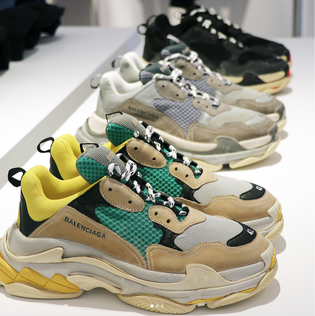 Balenciaga Men's Triple S Retro Sneaker