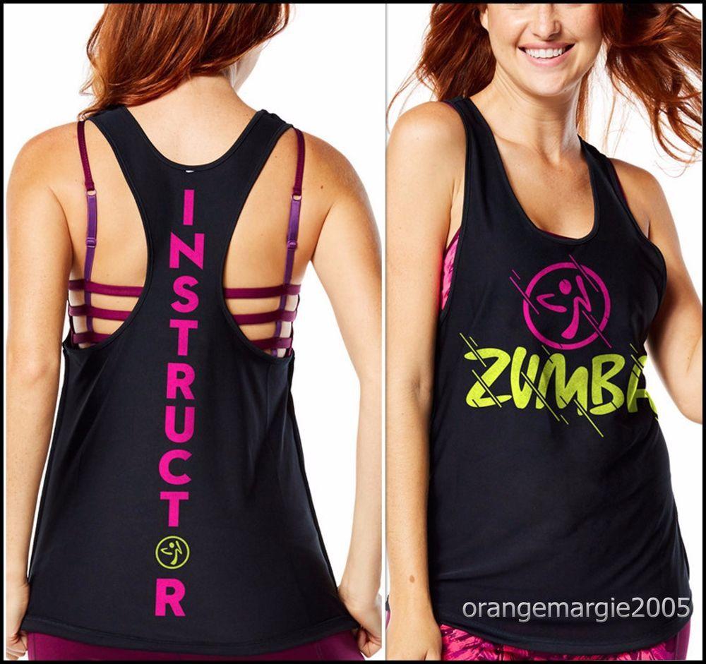 Zumba Women/'s High Neck Workout Fashion Design Tank Top